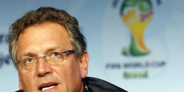 Jérôme Valcke, n°2 de la FIFA, dit n'avoir rien à se reprocher