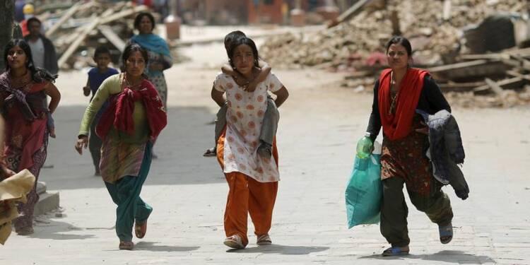Terreur et panique à Katmandou