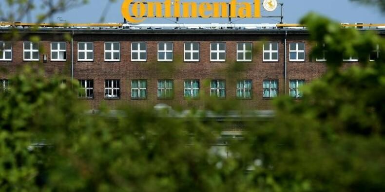 Continental revoit à la hausse ses prévisions 2015