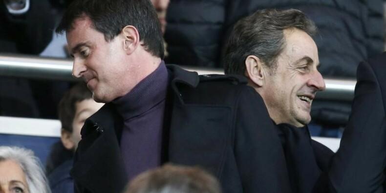 Passe d'armes entre Sarkozy et Valls sur le Front national