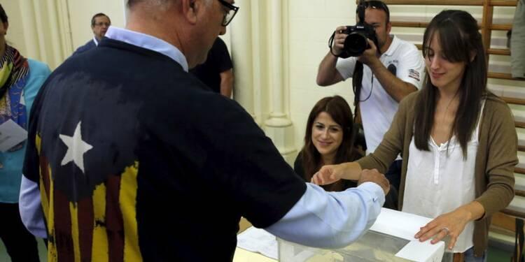 Les Catalans aux urnes, les séparatistes visent la majorité
