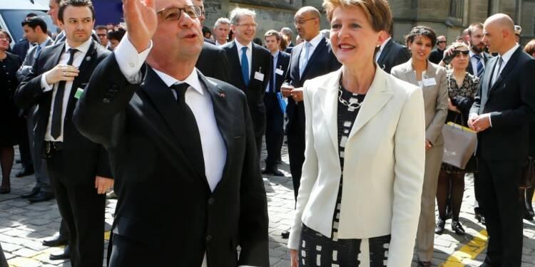 Hollande tourne la page des différends fiscaux franco-suisses