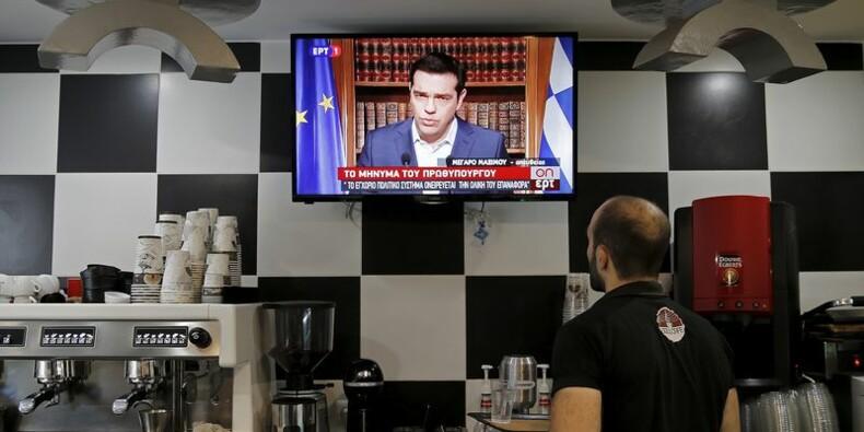 """Alexis Tspiras réitère son appel à voter """"non"""" au référendum"""