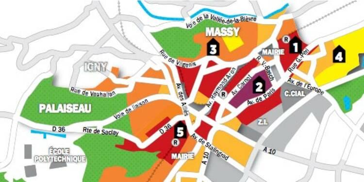Immobilier en Ile-de-France : la carte des prix à Massy et Palaiseau