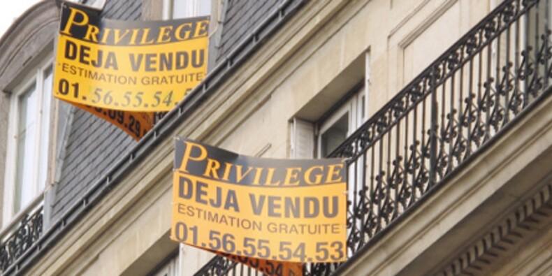 Le repli des prix de l'immobilier se confirme en janvier