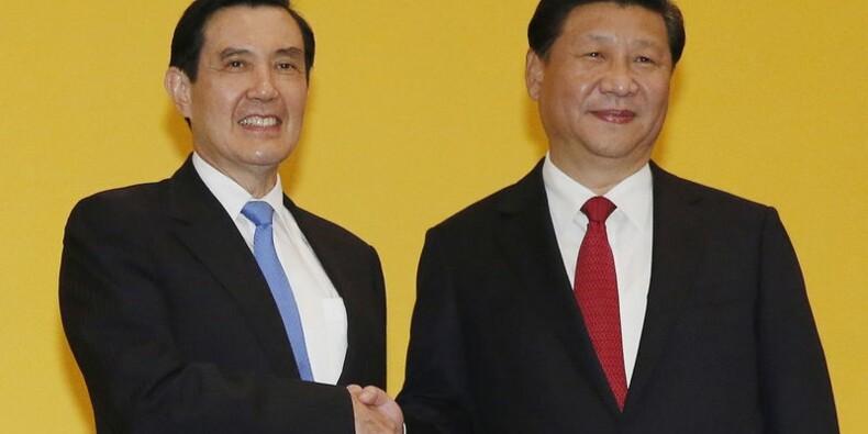 Rencontre historique entre présidents chinois et taïwanais