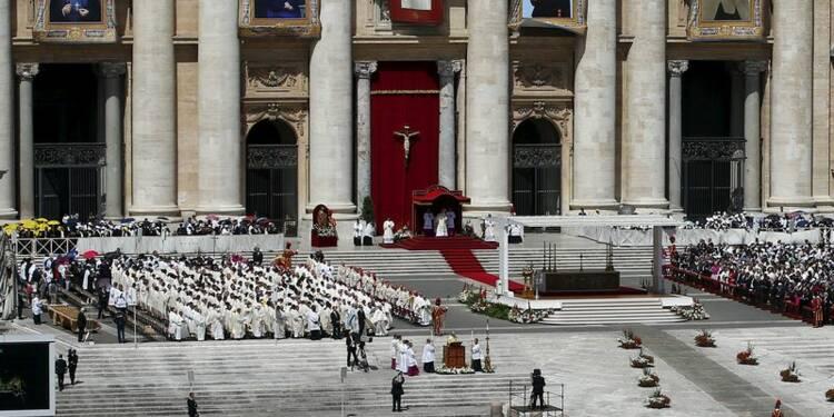 Le pape canonise deux Palestiniennes place Saint-Pierre