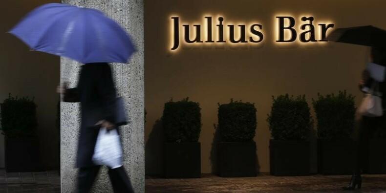 Julius Baer voit son bénéfice chuter après une lourde provision