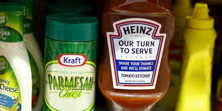 Kraft Heinz a vu ses ventes baisser avant la fusion