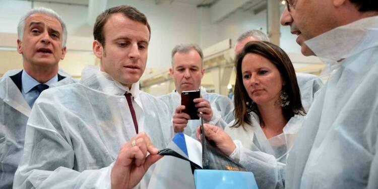 Macron annonce 3,4 milliards pour la Nouvelle France industrielle