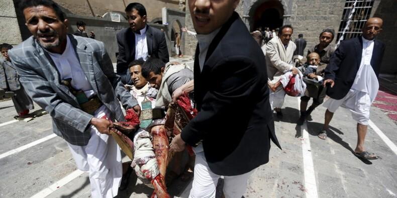 Attentats contre des mosquées à Sanaa, 87 morts