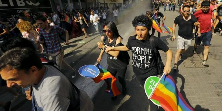 La Gay Pride dispersée par la police à Istanbul
