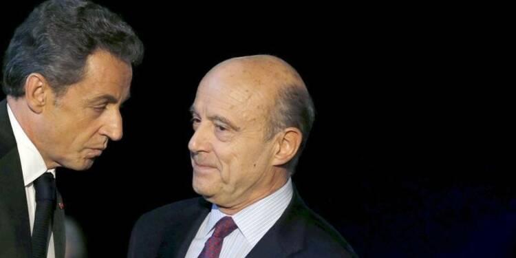 Juppé et Sarkozy au coude à coude pour la primaire à droite