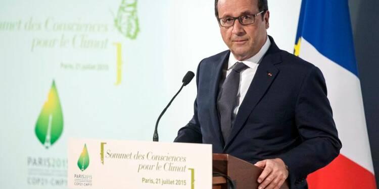 Hollande juge insuffisants les efforts envisagés sur le climat