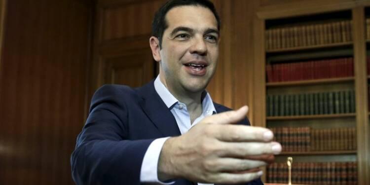 Alexis Tsipras en quête d'un allègement de la dette grecque