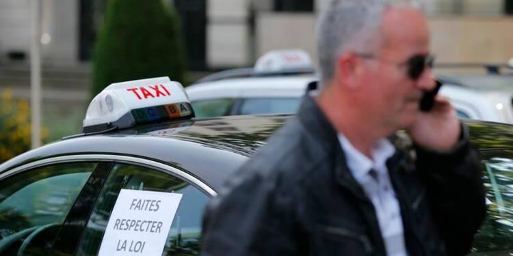 La colère des taxis contre UberPOP ne faiblit pas