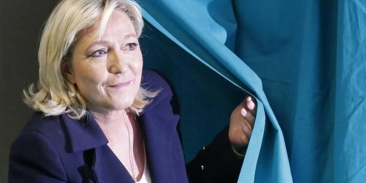 Marine Le Pen donnée gagnante aux régionales dans le Nord