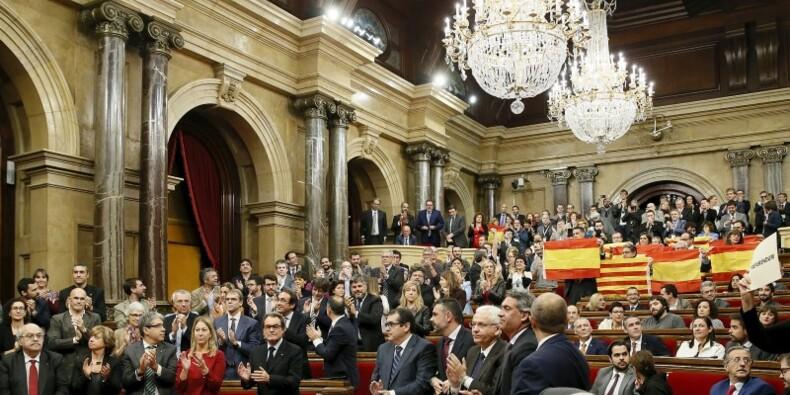 Le Parlement catalan ouvre la voie à l'indépendance