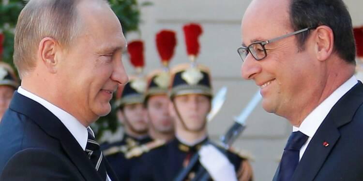 Paris et Moscou tentent de rapprocher leurs vues sur la Syrie