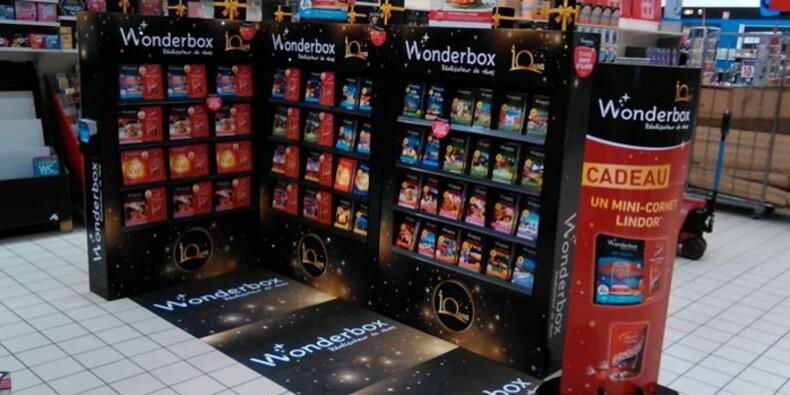 Wonderbox a dépassé le leader en pariant sur des coffrets cadeaux haut de gamme