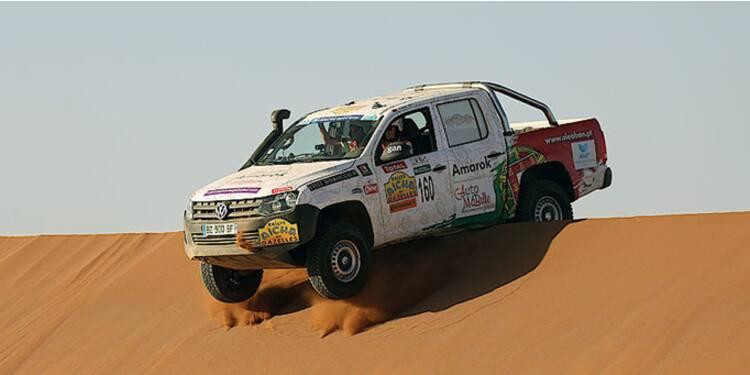 Rallye des Gazelles : un formidable moteur pour promouvoir les utilitaires de Volkswagen