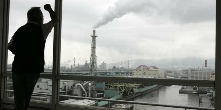 Les gaz à effet de serre émis au Japon proche du record de 2007