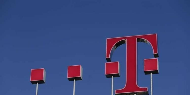 Deutsche Telekom s'est appuyé sur l'euro et les USA