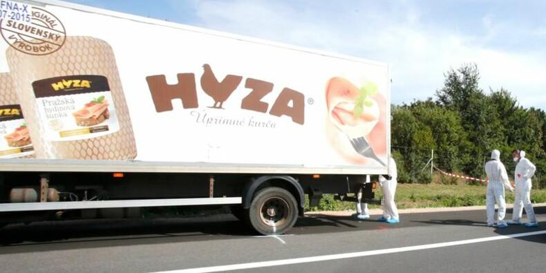 Des dizaines de réfugiés trouvés morts dans un camion en Autriche