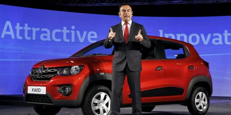 Renault présente en Inde son ultra low cost Kwid, à 5.000 euros