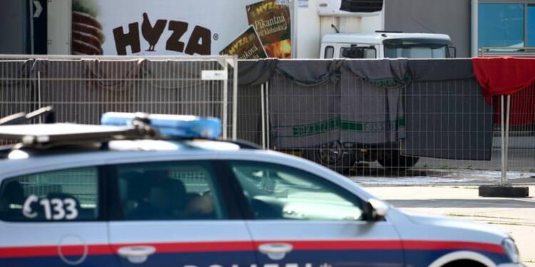 Les corps de 71 migrants retrouvés un camion en Autriche