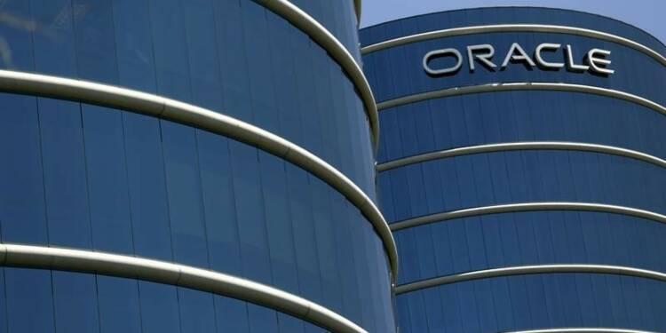 """Résultats en baisse pour Oracle mais le """"cloud"""" progresse"""
