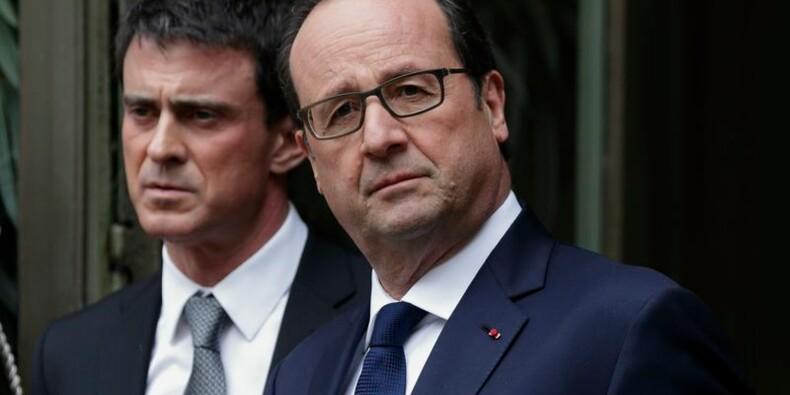 Les cotes de François Hollande et Manuel Valls refluent encore
