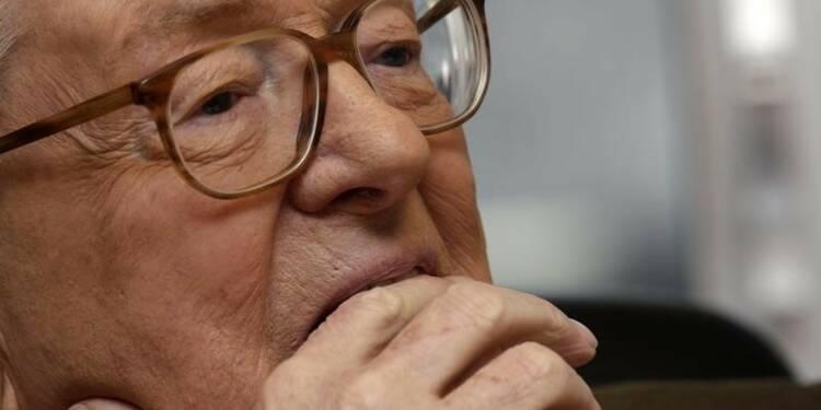 Jean-Marie Le Pen refuse de s'expliquer sur un compte en Suisse