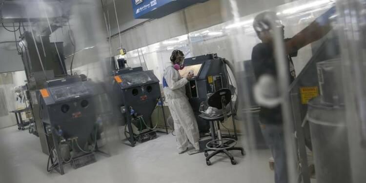 L'activité manufacturière ralentit aux Etats-Unis, selon l'ISM