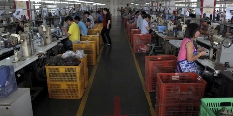 Le recul de la production manufacturière en Chine s'accélère
