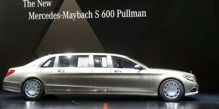 Daimler impavide face au ralentissement chinois