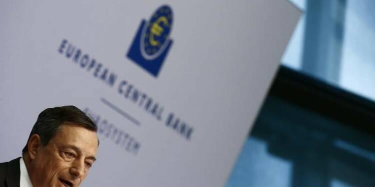 La BCE confiante pour l'inflation, moins pour la croissance