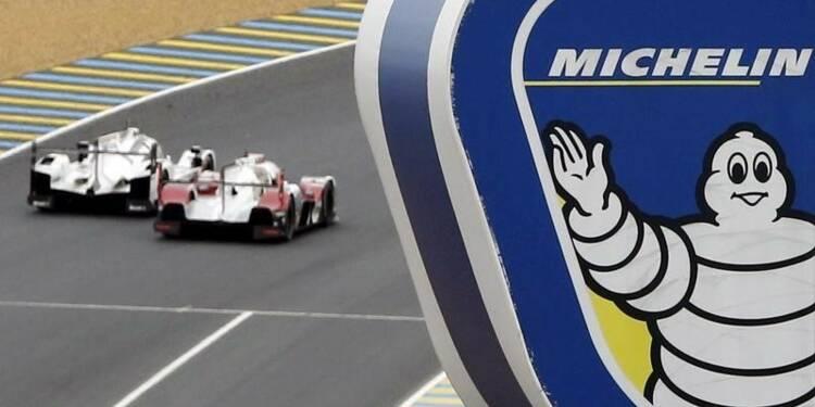 La concurrence pèse sur les prix de Michelin au 3e trimestre