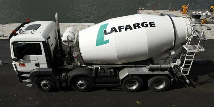 Lancement de l'offre publique d'échange en vue de LafargeHolcim