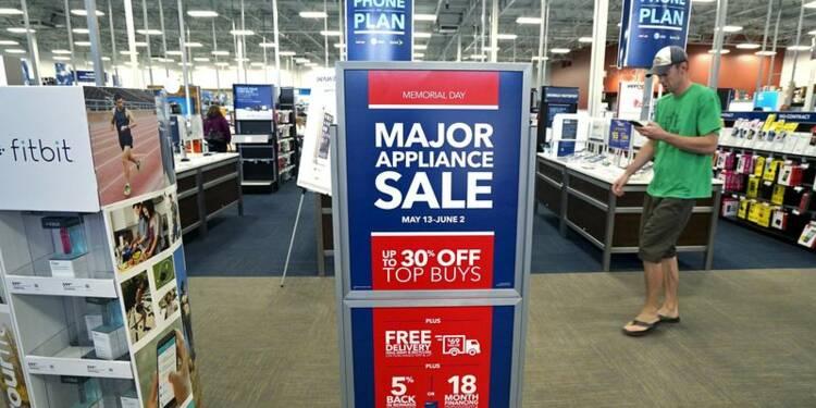 Les ventes au détail accélèrent en mai aux Etats-Unis
