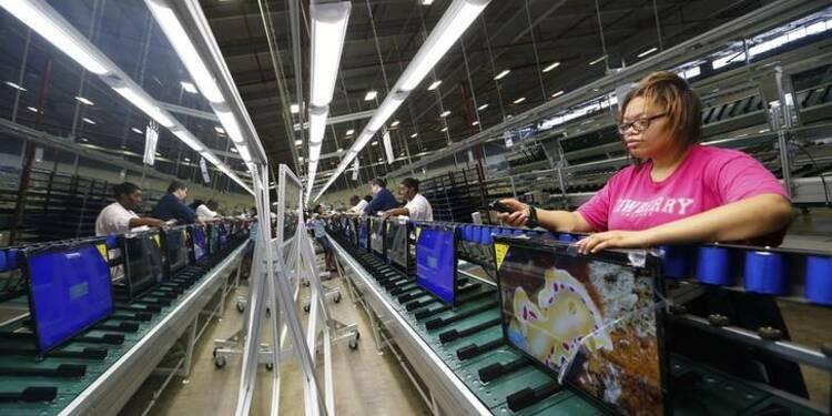 La croissance du secteur manufacturier aux USA a ralenti en juin