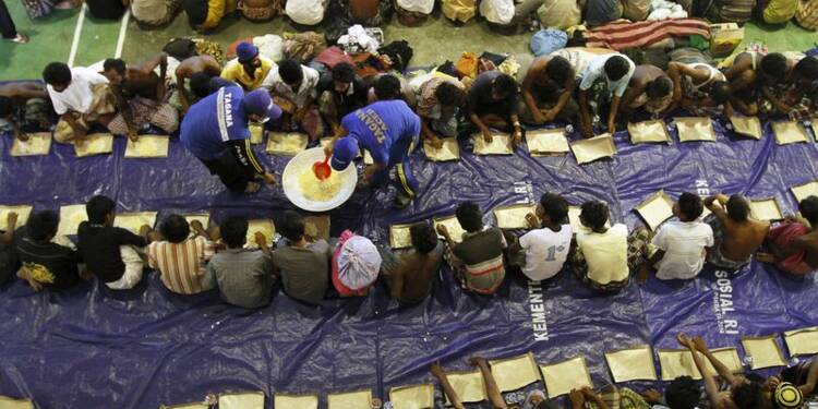 Afflux de migrants en Indonésie et en Malaisie