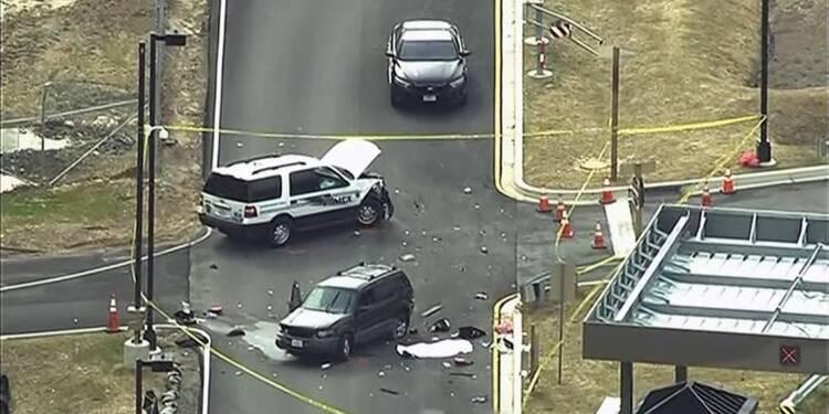 Incident à l'entrée du siège de la NSA dans le Maryland, un mort