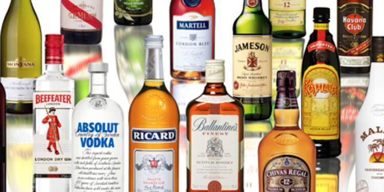Pernod Ricard chute en Bourse, les comptes de Diageo inquiètent