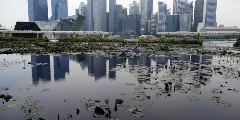 Singapour réduit sa prévision de croissance pour 2015