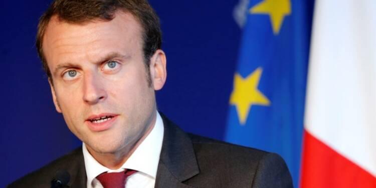 Macron confiant dans les chances d'un accord avec la Grèce
