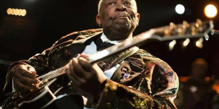 Le bluesman B.B. King s'éteint à 89 ans