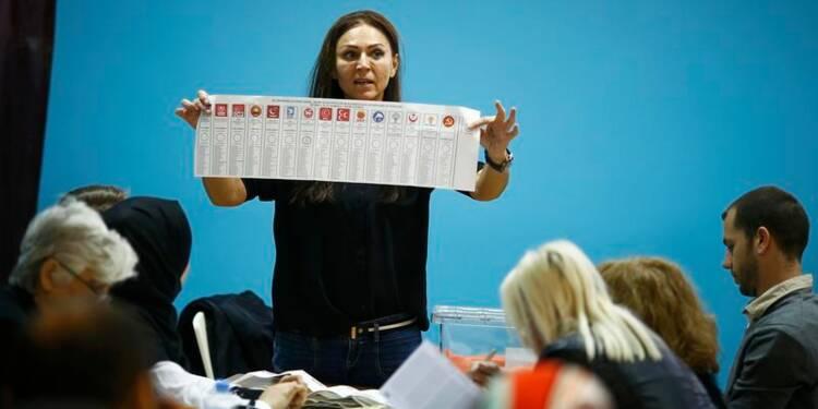 L'AKP en passe de retrouver la majorité absolue en Turquie