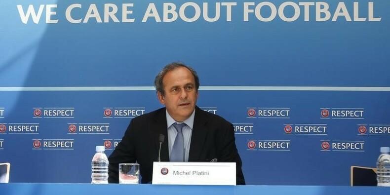 Michel Platini dénonce une campagne déséquilibrée pour la FIFA