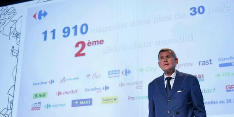 Carrefour résiste grâce au Brésil et à l'Espagne